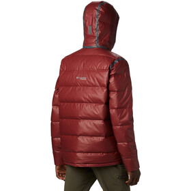 Columbia OutDry Ex Alta Peak Donsjas Heren, red jasper heather